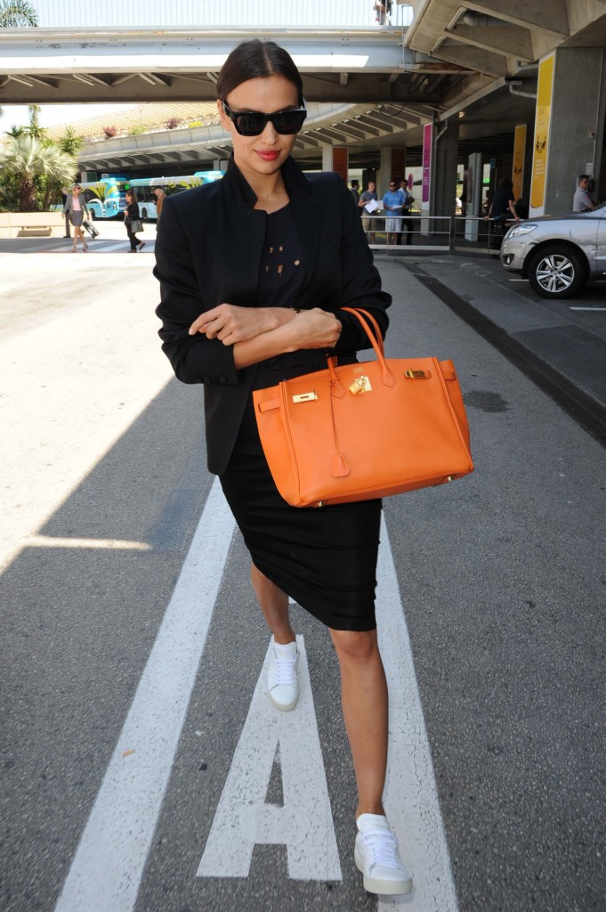 Irina Shayk Arrivals at the airport 68^ Cannes Film Festival Cannes 18-05-2015